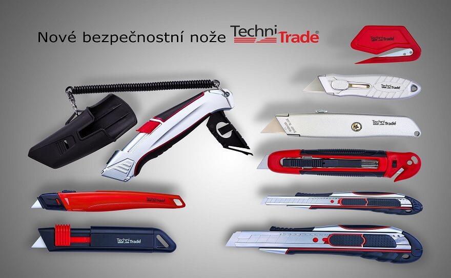 Bezpečnostní nože Techni Trade
